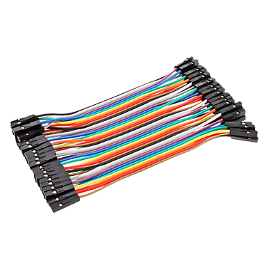Dupont Wire F-F 15cm (40pc)