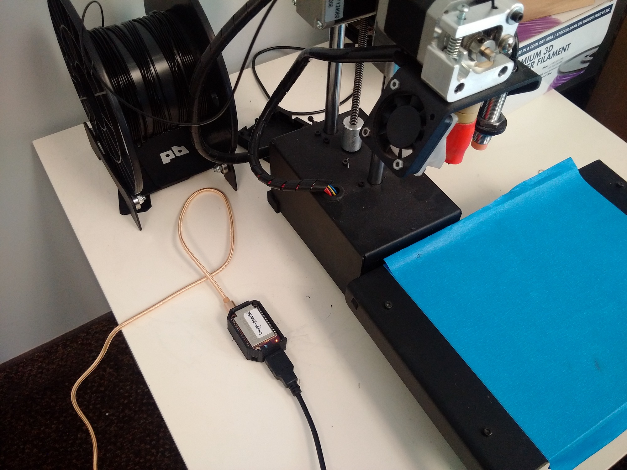 OctoPrint 3D-Print Server On The Omega2+