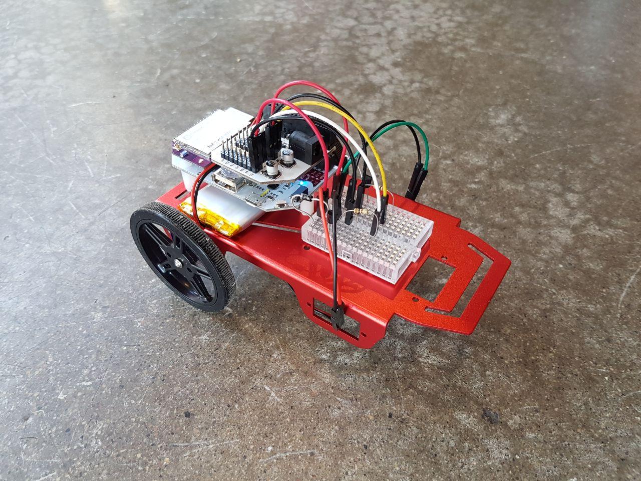 Omega-Powered Robot