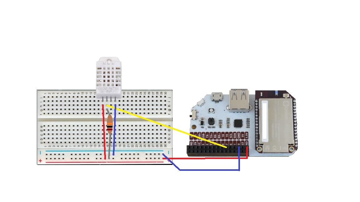 Reading DHT Sensor Data