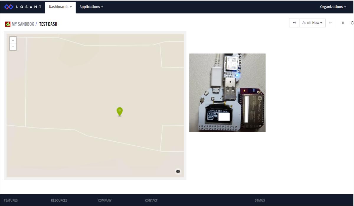 Losant GPS Tracker