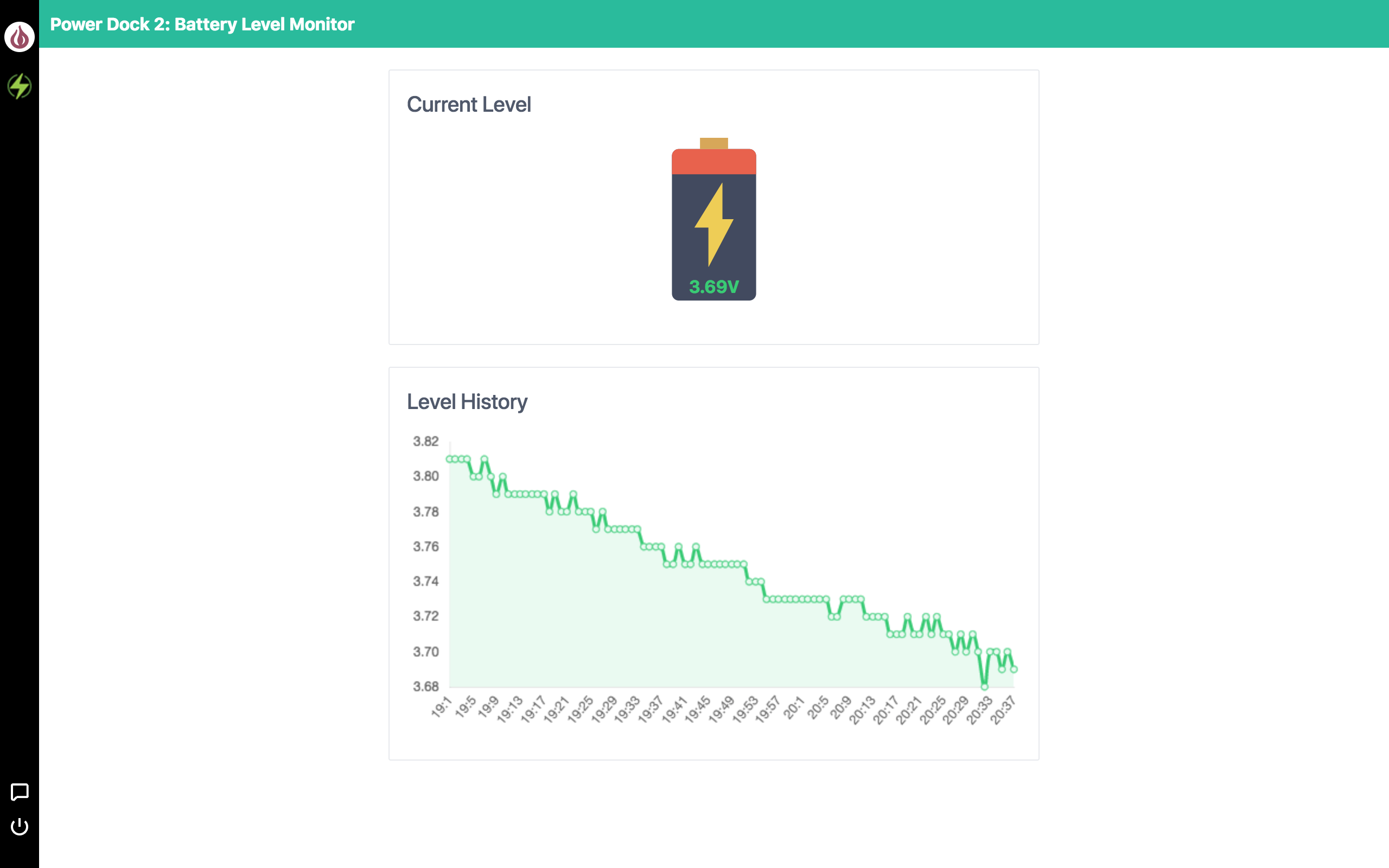 battery level monitor app